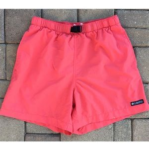 Columbia Coral Athletic Shorts Size Small